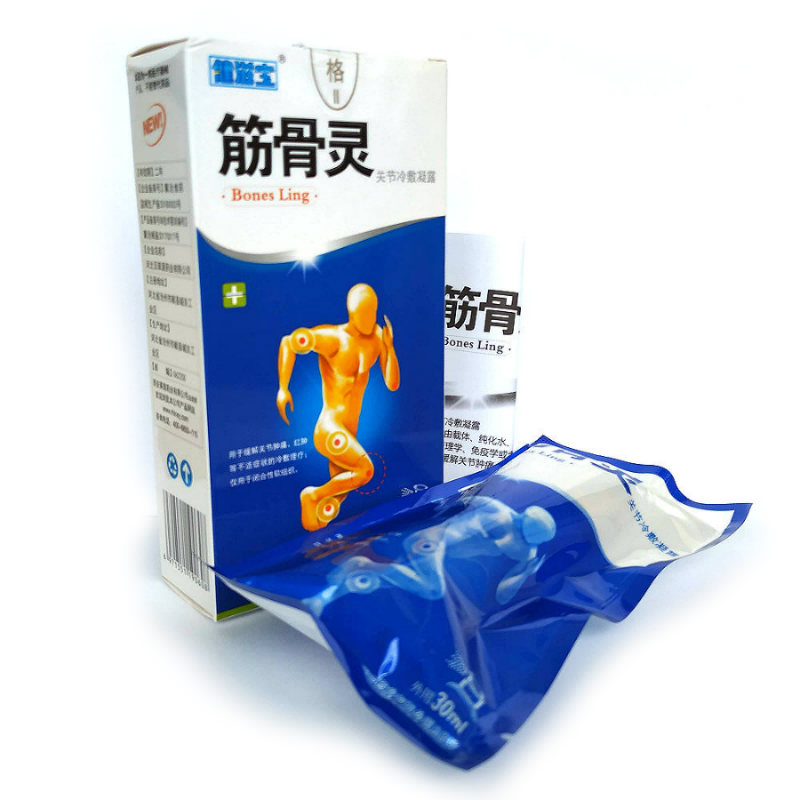 Комплектация спрей обезболивающий для суставов JinGuLing
