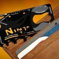 Мультитул Wallet Ninja Card в форме кредитки